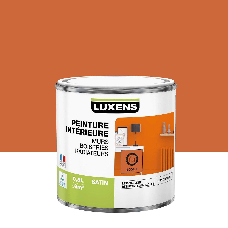 Peinture mur, boiserie, radiateur toutes pièces Multisupports LUXENS, soda 2, sa