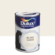 peinture blanc cass satin dulux valentine cr me de couleur 2 5 l leroy merlin. Black Bedroom Furniture Sets. Home Design Ideas