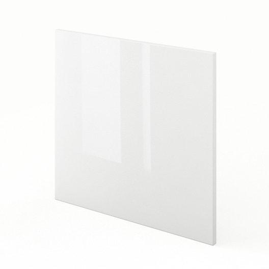 porte pour lave vaisselle de cuisine blanc rio x cm leroy merlin. Black Bedroom Furniture Sets. Home Design Ideas