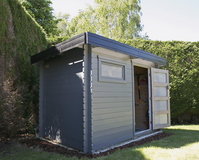 installer un abri de jardin leroy merlin. Black Bedroom Furniture Sets. Home Design Ideas