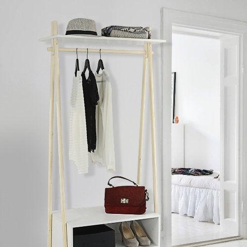 accessoires de rangement rangement dressing leroy merlin. Black Bedroom Furniture Sets. Home Design Ideas