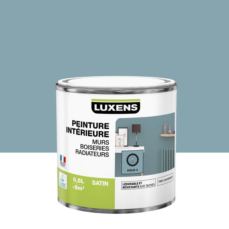 Peinture Mur Boiserie Radiateur Toutes Pièces Multisupports Luxens Aqua 4 Sa