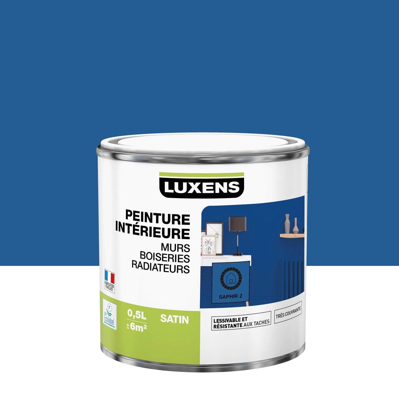 Peinture mur, boiserie, radiateur toutes pièces Multisupports LUXENS, saphir 2,