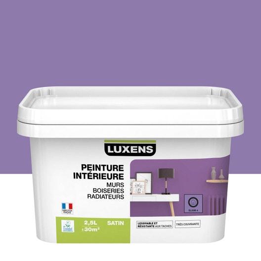 Peinture mur, boiserie, radiateur toutes pièces Multisupports LUXENS, elixir 4, | Leroy Merlin