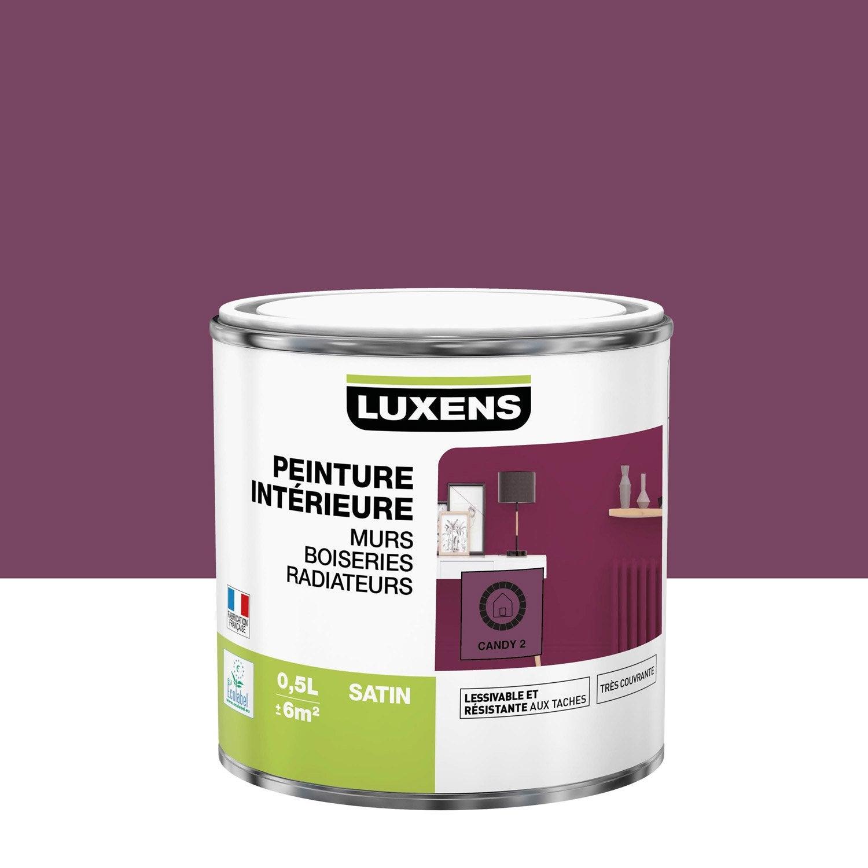 Peinture mur, boiserie, radiateur toutes pièces Multisupports LUXENS, candy 2, s