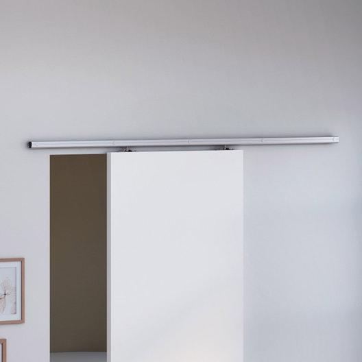 rail coulissant belem artens pour porte de largeur 93 cm maximum leroy merlin. Black Bedroom Furniture Sets. Home Design Ideas