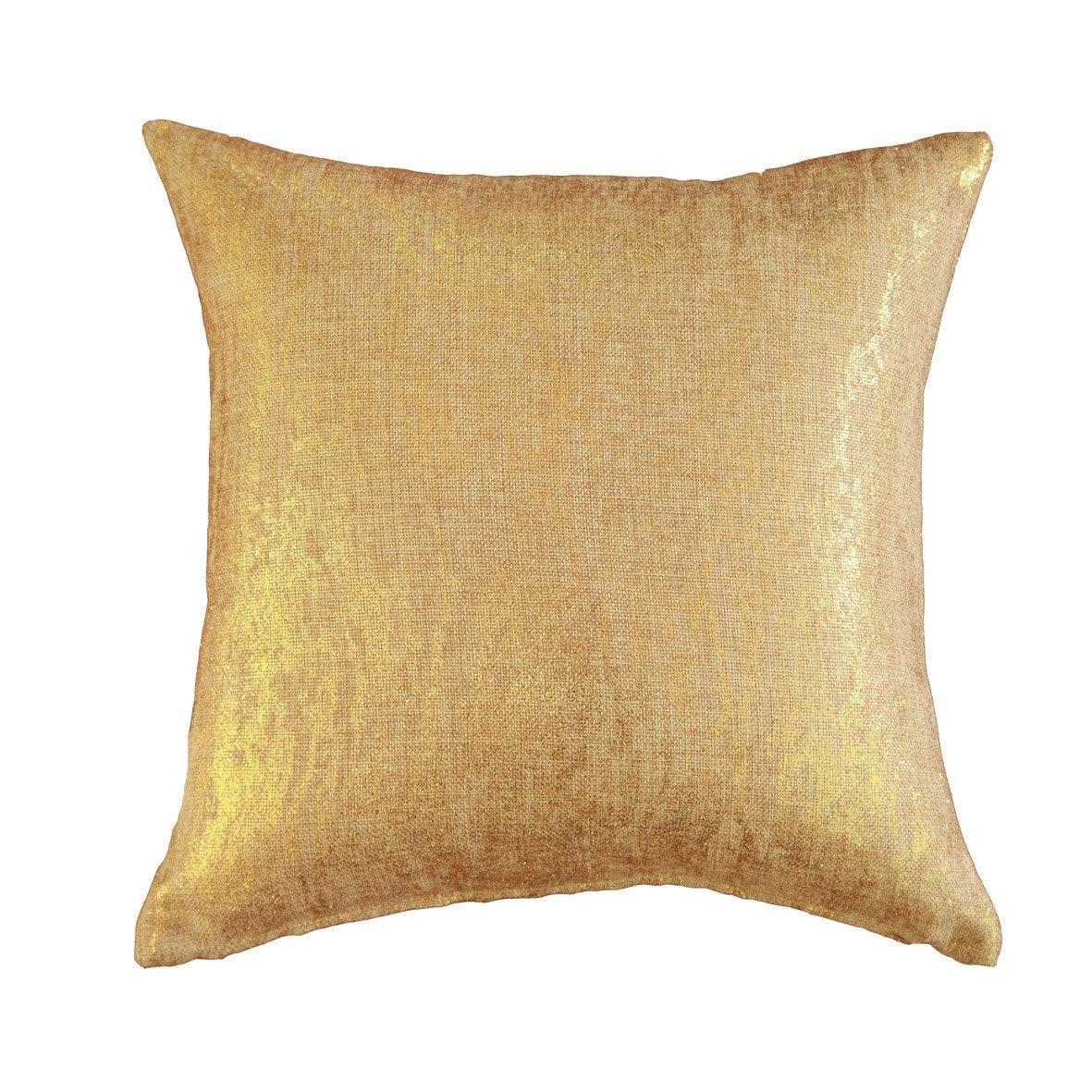 Coussin Marble INSPIRE, doré l.40 x H.40 cm