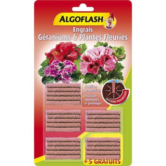 engrais plantes fleuries algoflash 25 b tonnets leroy merlin. Black Bedroom Furniture Sets. Home Design Ideas
