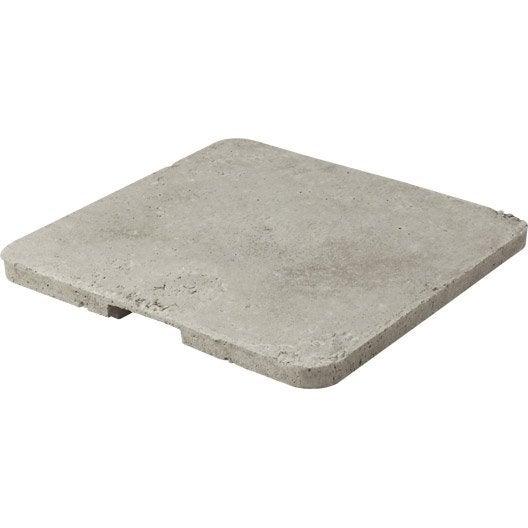 Couvercle b ton gris legouez x x ep 4 cm - Rehausse chambre de visite beton ...