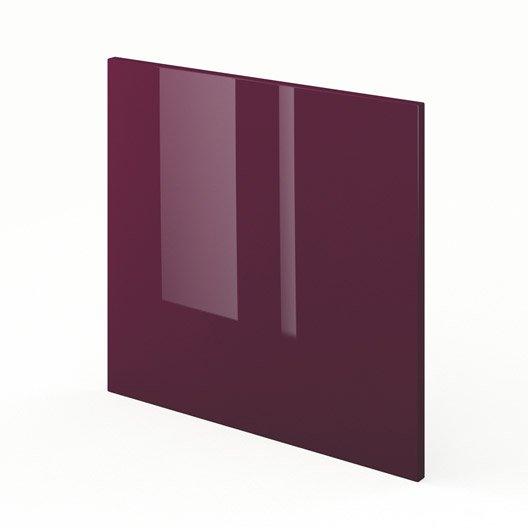 Porte pour lave vaisselle int grable de cuisine violet for Porte pour lave vaisselle integrable