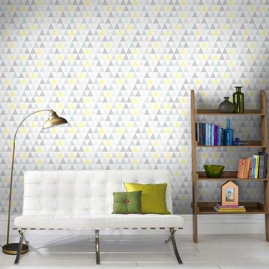 papier peint intissé tarek multicolor | leroy merlin