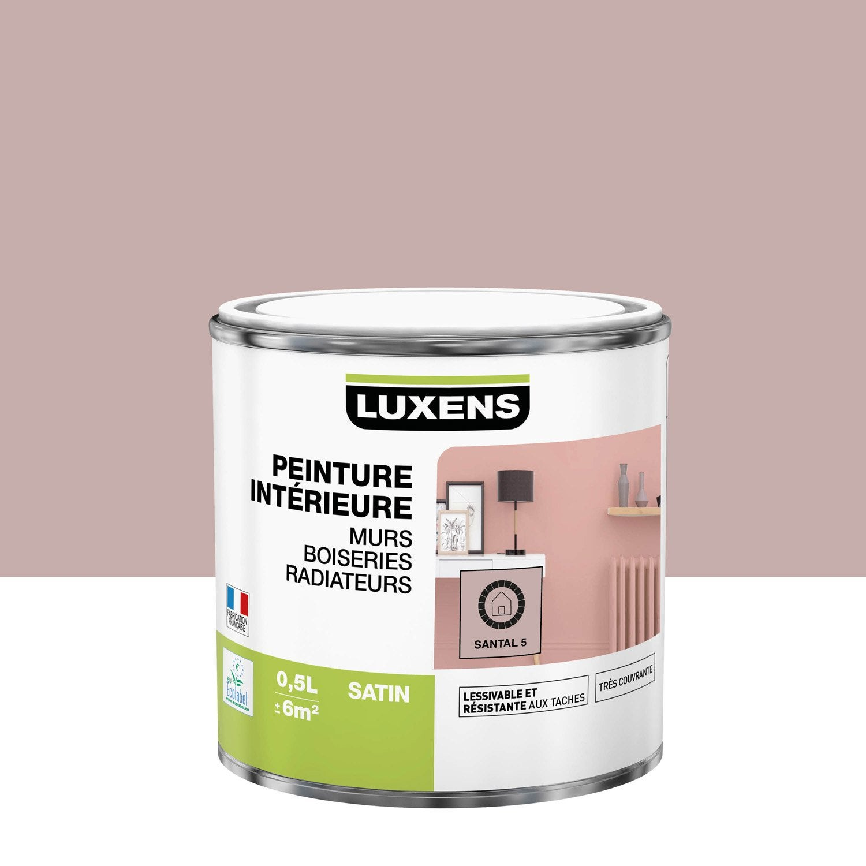 Peinture mur, boiserie, radiateur toutes pièces Multisupports LUXENS, santal 5,