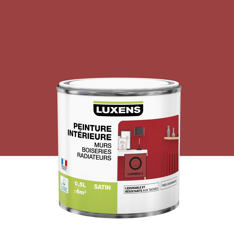 Peinture mur, boiserie, radiateur toutes pièces Multisupports LUXENS, carmen 3,