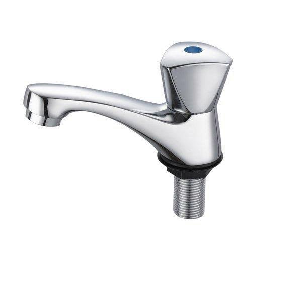 Robinet de lave-mains eau froide chromé Nerea