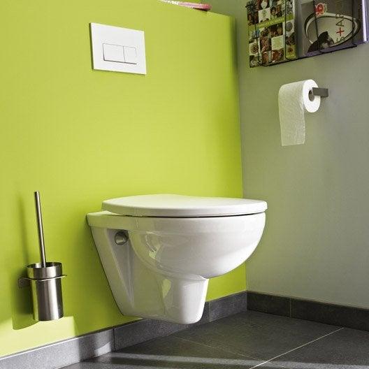 pack wc suspendu b ti universel club design 2 pieds leroy merlin. Black Bedroom Furniture Sets. Home Design Ideas