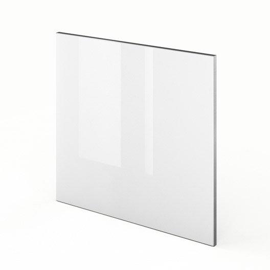 Porte pour lave vaisselle int grable de cuisine blanc f60 for Porte lave vaisselle ikea 60 cm