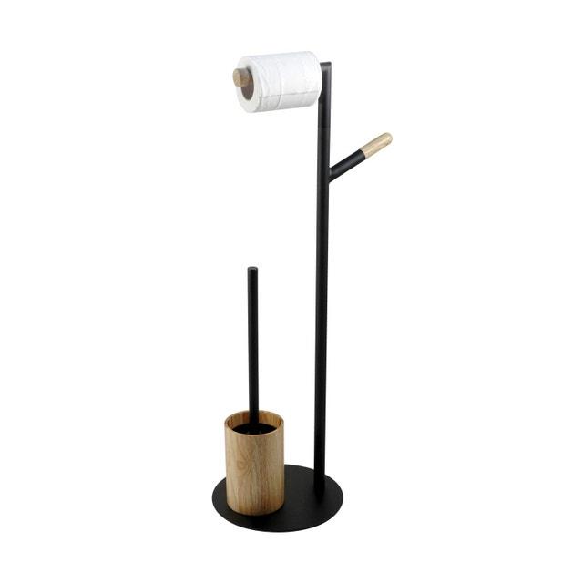 une composition noire et blanche pour votre salle de bains leroy merlin. Black Bedroom Furniture Sets. Home Design Ideas