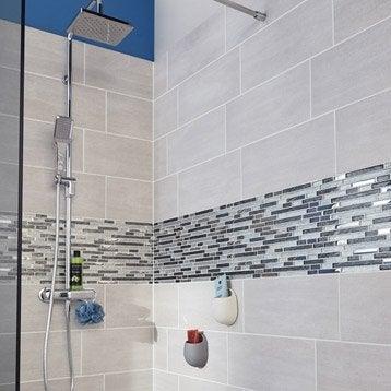 Carrelage mural et fa ence pour salle de bains et cr dence - Carrelage cuisine leroy merlin ...