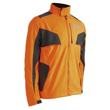 Veste OREGON orange et noir, taille S