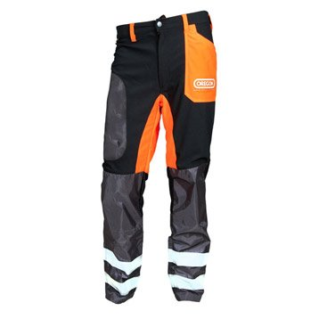 Pantalon OREGON noir et orange, taille XXL