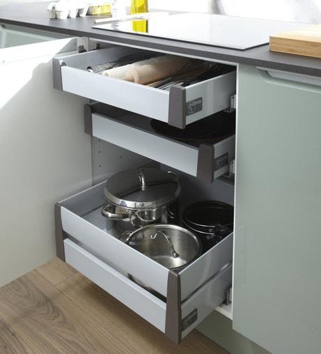 Meubles de cuisine vive le fonctionnel leroy merlin for Cuisine a l anglaise