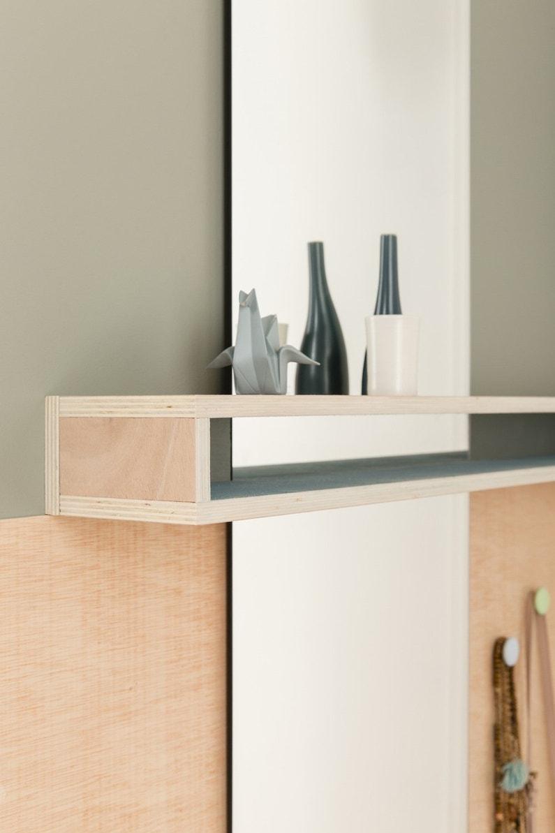 des tag res fabriqu es en contreplaqu leroy merlin. Black Bedroom Furniture Sets. Home Design Ideas