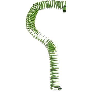 Tuyau d'arrosage équipé GEOLIA Spirale L.15 m Diam.8 mm