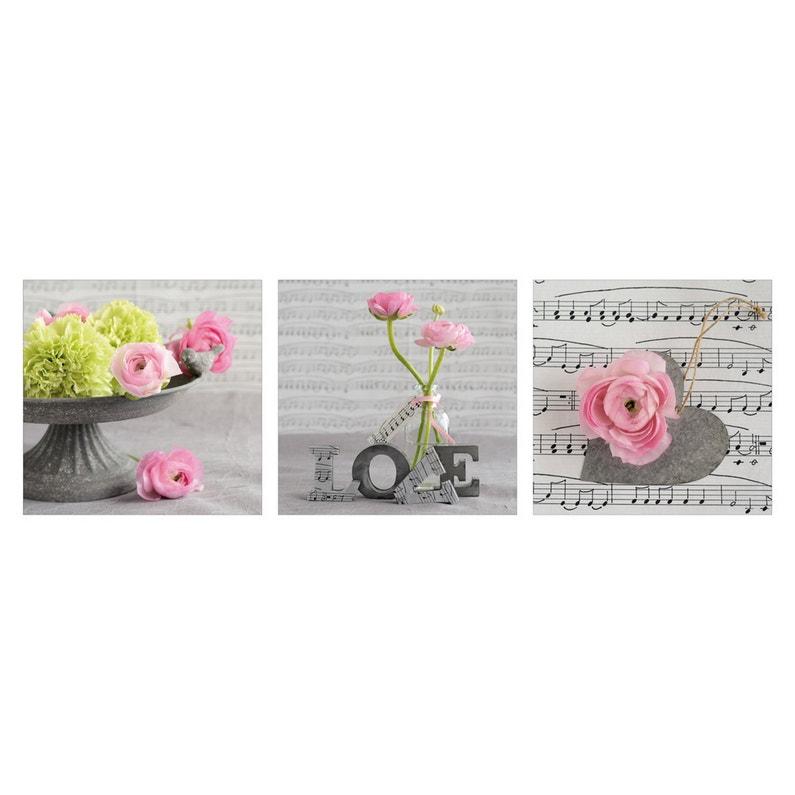 Affiche Composition Florale L33 X H95 Cm