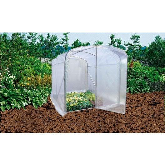 tunnel mini tunnel jardin serre tomates plateau au meilleur prix leroy merlin. Black Bedroom Furniture Sets. Home Design Ideas