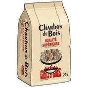 Charbon de bois solide GRILLO'BOIS par 20 l