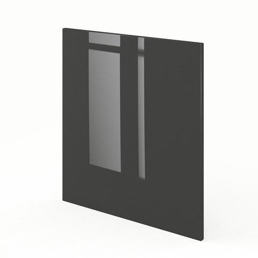 joue meuble bas de cuisine gris rio x cm leroy merlin. Black Bedroom Furniture Sets. Home Design Ideas