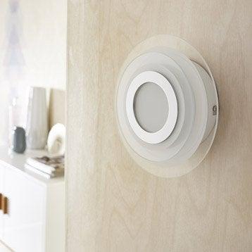 Applique design led intégrée Cres verre Blanc, 1 INSPIRE