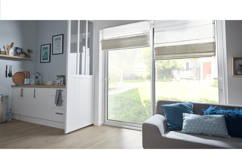 une verri re pour la cuisine leroy merlin. Black Bedroom Furniture Sets. Home Design Ideas