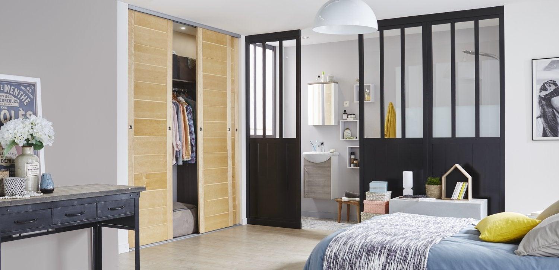 Verri re int rieure atelier cuisine salle de bains et for Cloison separation style atelier