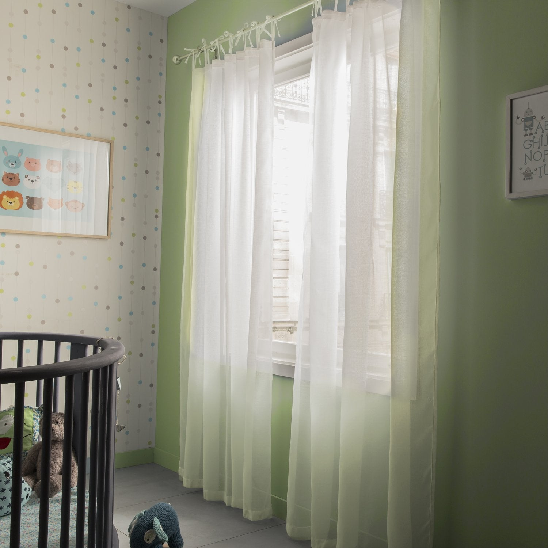 un grand rideau de voile pour dcorer votre chambre denfant