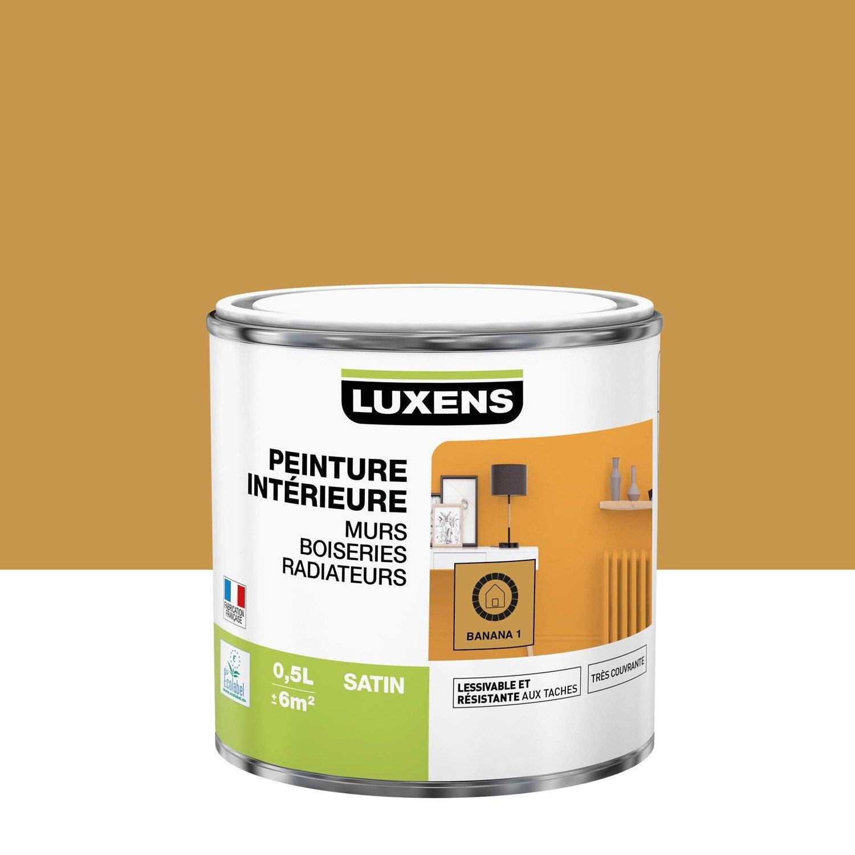 Peinture mur, boiserie, radiateur toutes pièces Multisupports LUXENS, banana 1,
