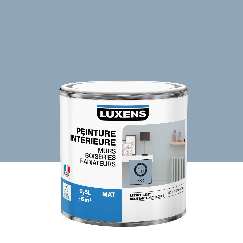 Peinture Multisupports ink 6 mat LUXENS 0.5 l