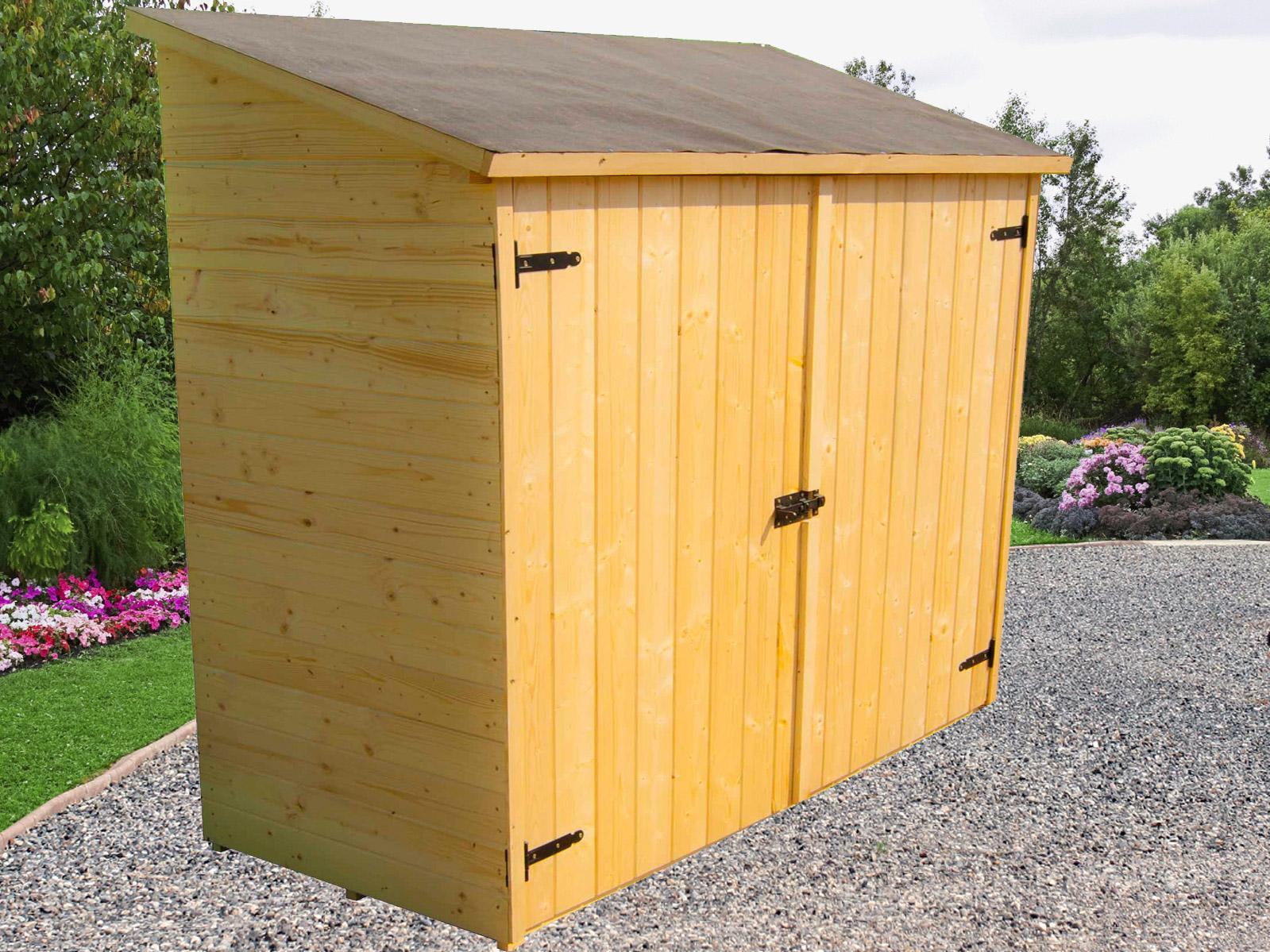 Cabane À Outils Bois abri jardin structures et parasols pour jardin et terrasse