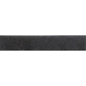 Lot de 3 plinthes Factory noir, l.8 x L.45 cm