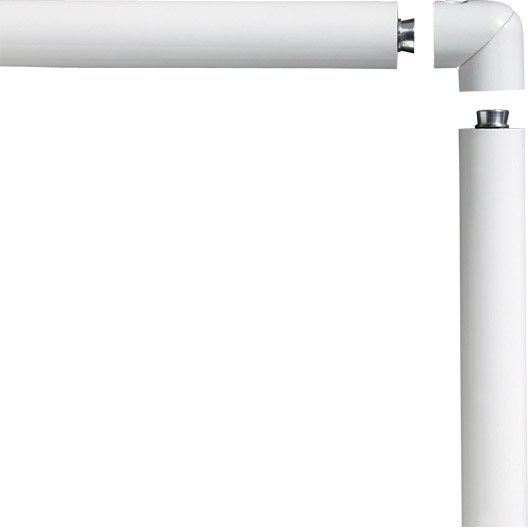 main courante aluminium blanc obapi 2 m leroy merlin. Black Bedroom Furniture Sets. Home Design Ideas