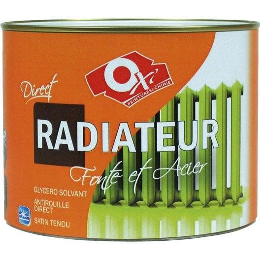 Peinture radiateur et haute temp rature leroy merlin - Peinture radiateur couleur ...