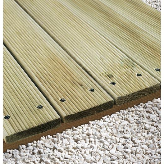 Comment poser une terrasse bois ou composite sur lambourdes ?