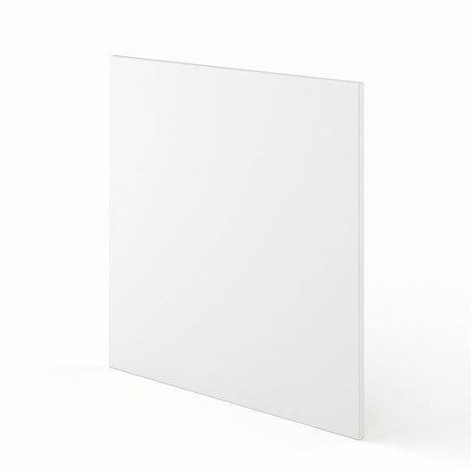 joue meuble haut bas de cuisine blanc l65 d lice l65 x h70 cm leroy merlin. Black Bedroom Furniture Sets. Home Design Ideas