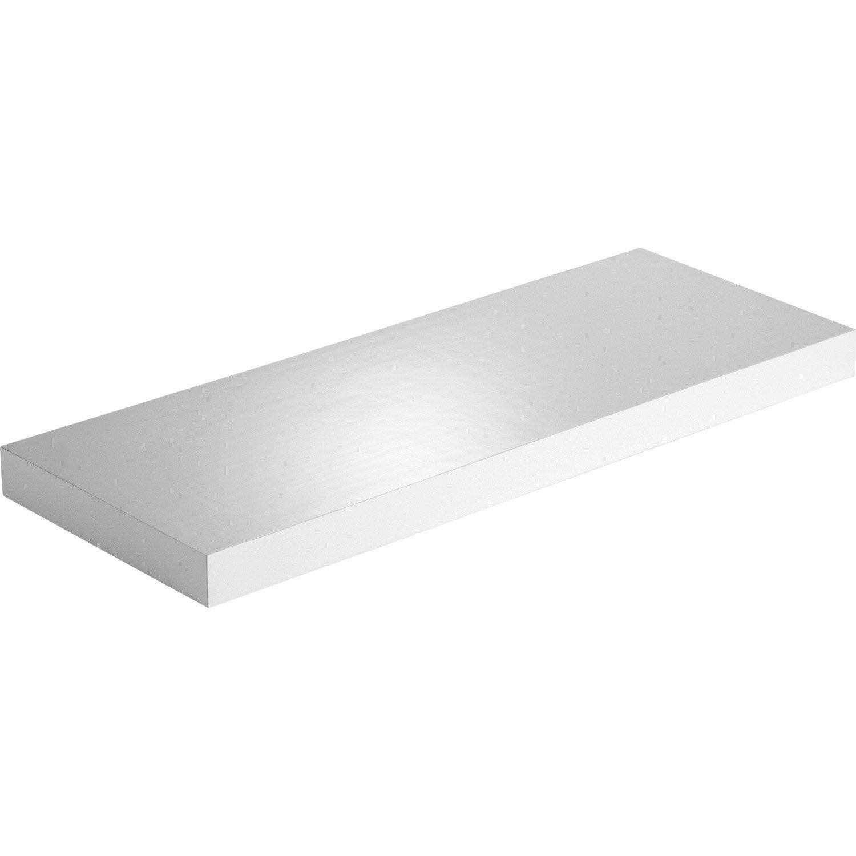 etag re murale blanc blanc n 0 spaceo x cm mm leroy merlin. Black Bedroom Furniture Sets. Home Design Ideas