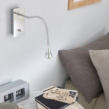 Applique, led intégrée Kaya, 1 x 3 W, métal aluminium, INSPIRE