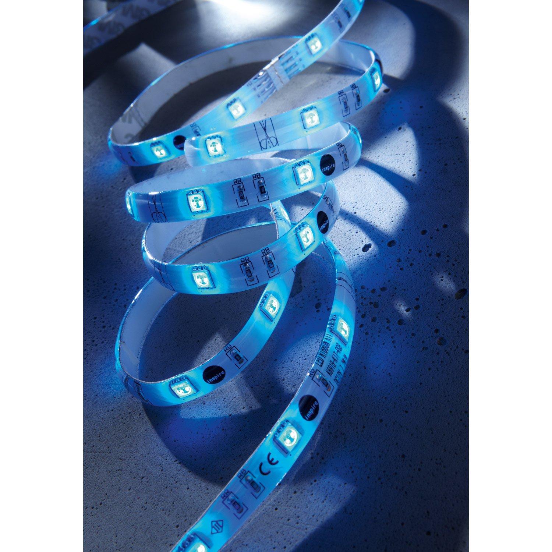ruban led bleu flexled inspire leroy merlin. Black Bedroom Furniture Sets. Home Design Ideas