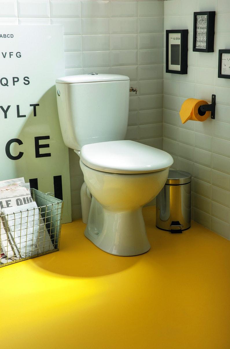 Un style m tro pour les wc leroy merlin for Produit pour deboucher les wc