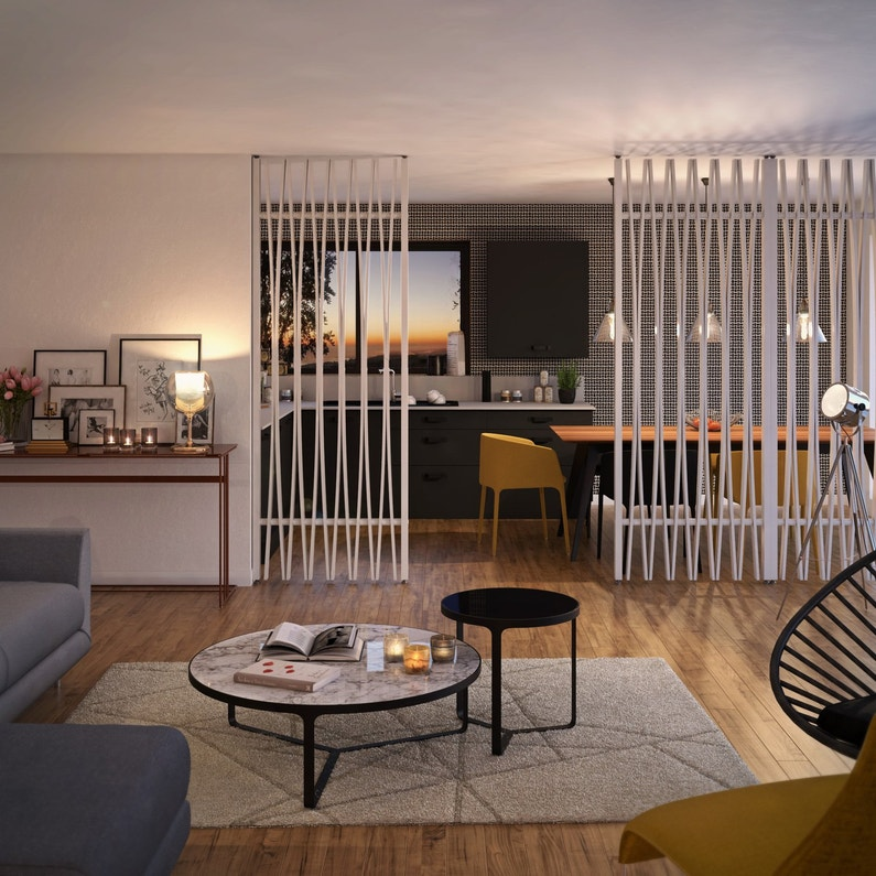 une cloison amovible blancher pour s parer la cuisine du salon leroy merlin. Black Bedroom Furniture Sets. Home Design Ideas