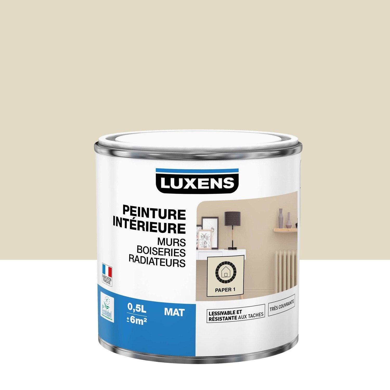 Peinture mur, boiserie, radiateur toutes pièces Multisupports LUXENS, paper 1, m