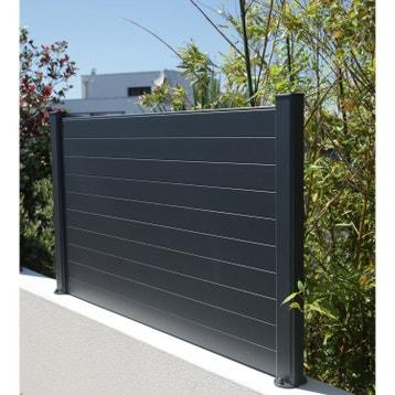 Clôture - Clôture aluminium, fer, bois, PVC au meilleur prix | Leroy ...